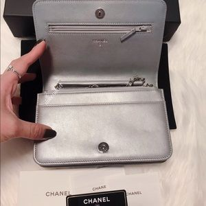 CHANEL Bags - {CHANEL} Add'l Pictures for Chanel Chrystal WOC